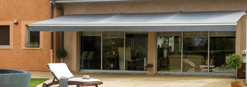 Stores de terrasse et balcon